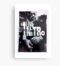 ILoveNitro Metal Print