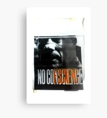 NoFuckingConscience Metal Print