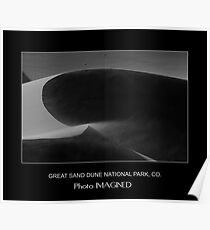 GREAT SAND DUNE NATIONAL PARK, CO. Poster