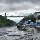 A Bristol scene by David Carton