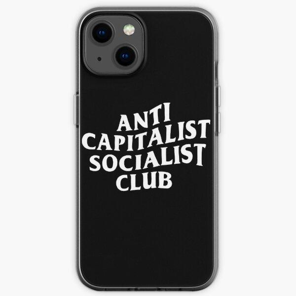 Anti Capitalist Socialist Club - The Peach Fuzz iPhone Soft Case