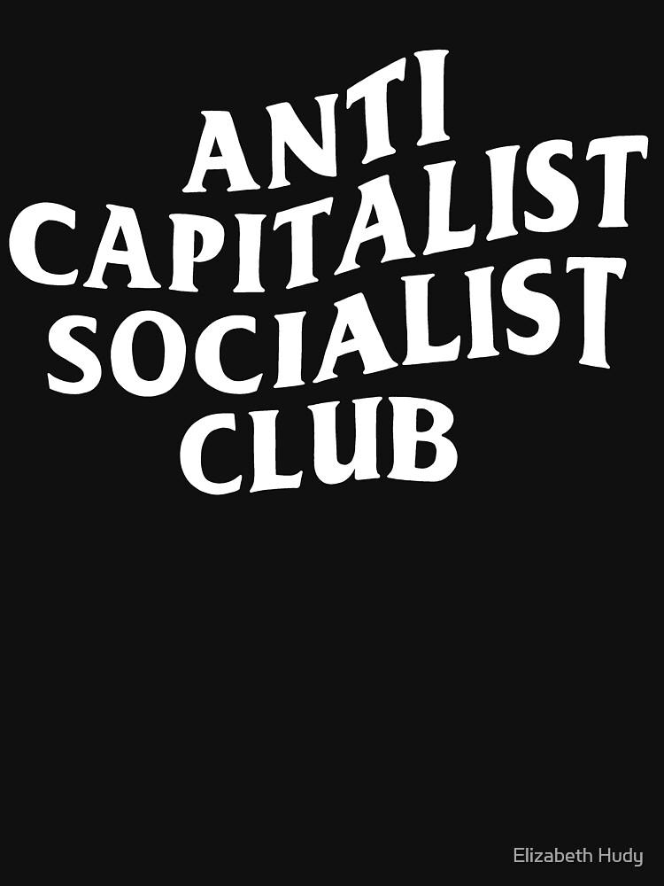 Anti Capitalist Socialist Club - The Peach Fuzz by elizabethhudy