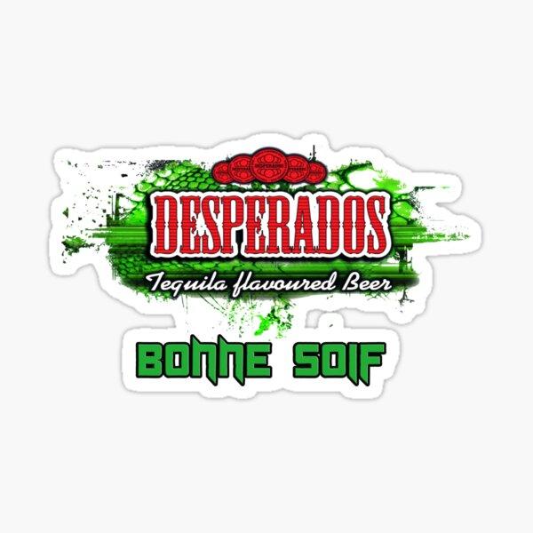 Desperados Skull Design Sticker By Rania42 Redbubble