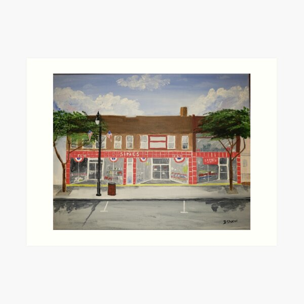 Sines 5 and 10 in Quakertown, Pa Art Print