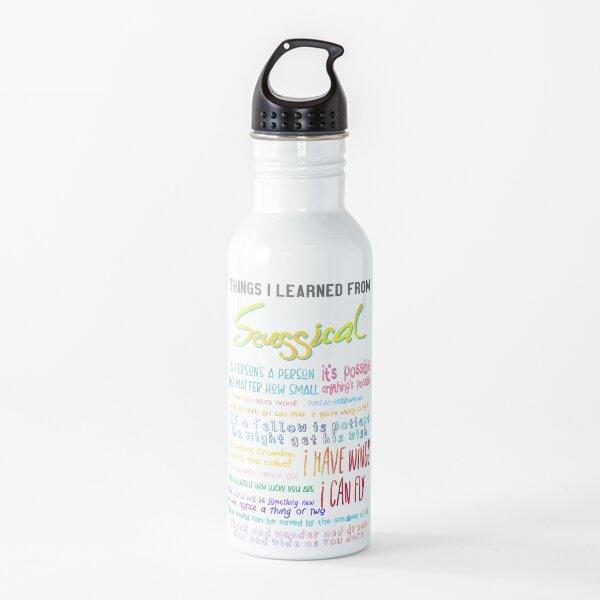 Cosas que aprendí de Seussical Botella de agua