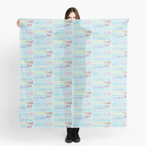 Seussical Quotes Set Scarf