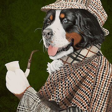 THE Sherlock Berner by lianeweyers