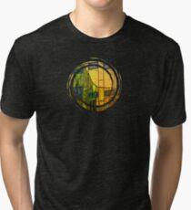 L'arc-en-Ciel  - JUSTART © Tri-blend T-Shirt