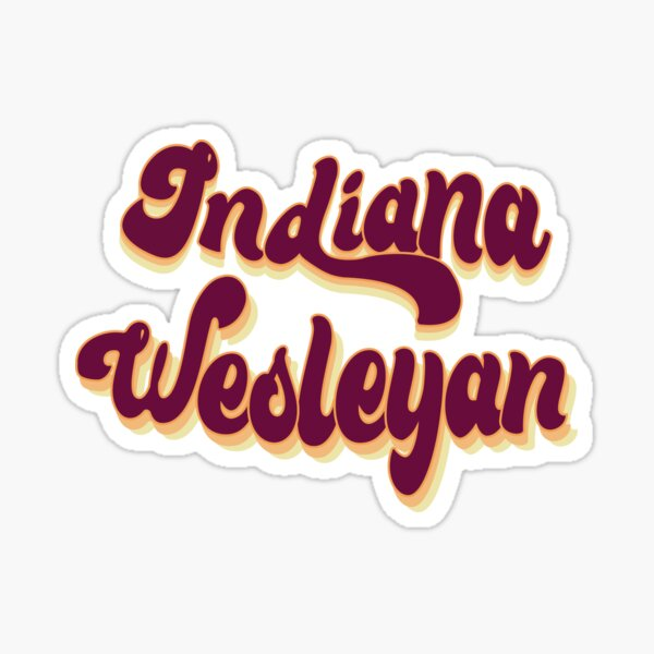 Indiana Wesleyan Sticker