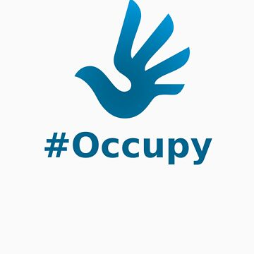 Occupy with HR Dove Logo by Nwyvre