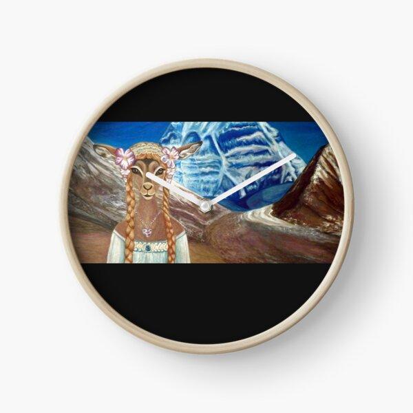 Lady Impala in Tibet's Mount Kailash Clock