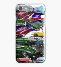 British Sports Cars iPhone Case/Skin