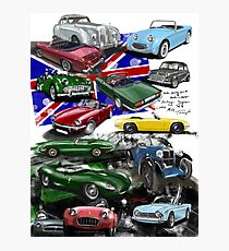 British Sports Cars Photographic Print