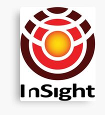 InSight Program Logo Canvas Print