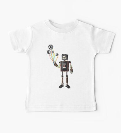 """Robot & His Mechanical Balloons"" Kids Clothes"