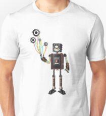 """""""Robot & His Mechanical Balloons"""" Unisex T-Shirt"""