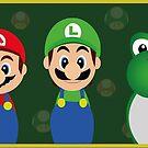Super Mario by MinimaDolly