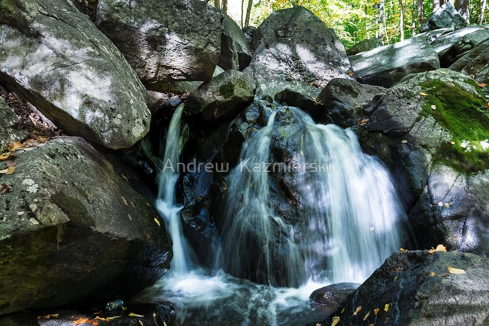 Trout Brook Falls by andykazie