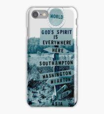God Is Everywhere iPhone Case/Skin