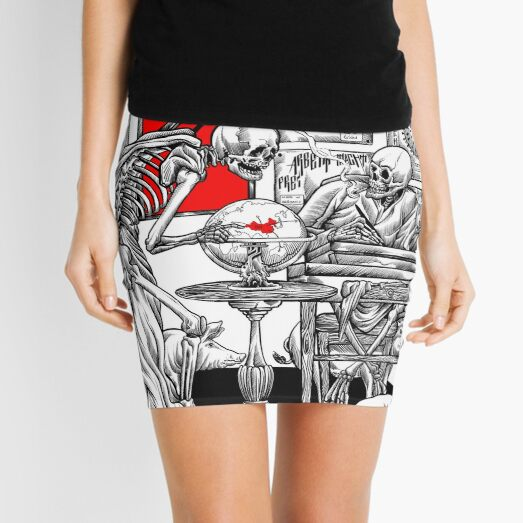 the end is fear  Mini Skirt