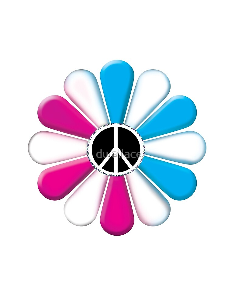 Peace Power Flower by dwallace