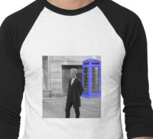 Doctor Who Mad Man In a Blue Box Men's Baseball ¾ T-Shirt