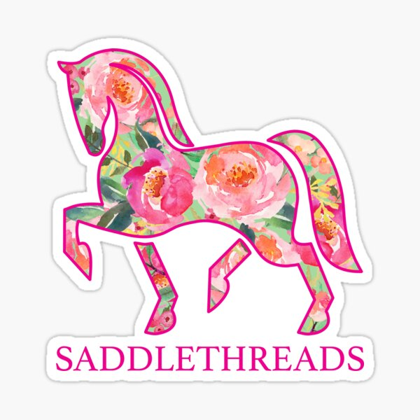Saddlethreads - Bloom Sticker