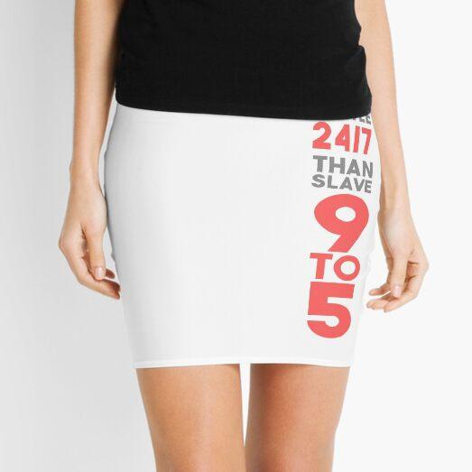 Hustle 24/7 - Pink Mini Skirt