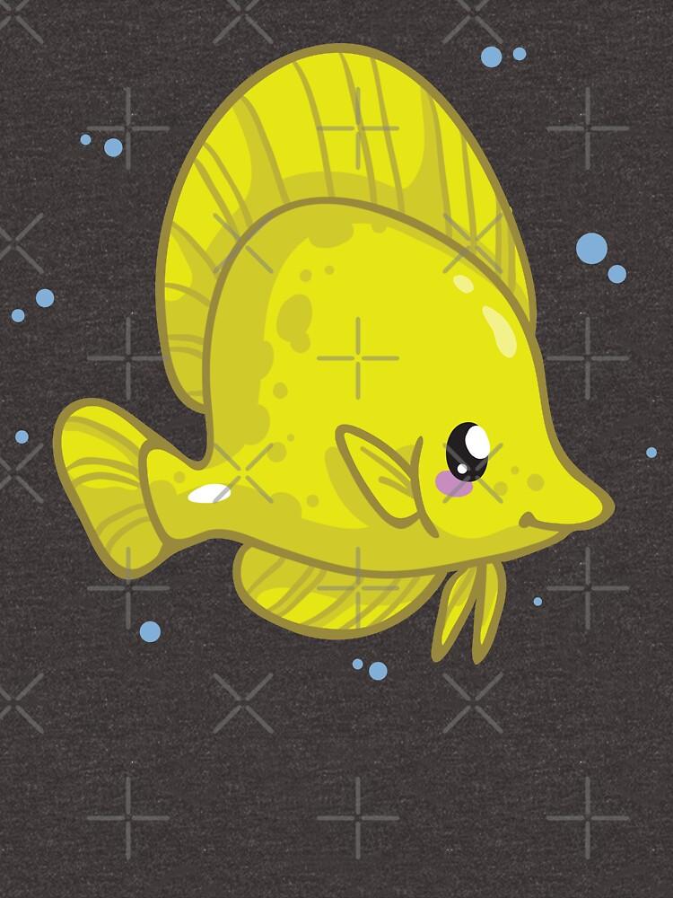 Yellow Tang (Huevember 2018) by bytesizetreas