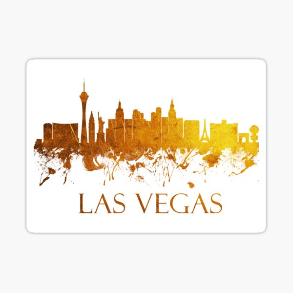 Las Vegas Nevada Skyline - 38 Sticker