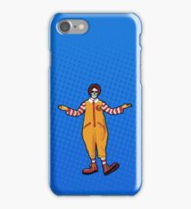 Ronald McDeath iPhone Case/Skin