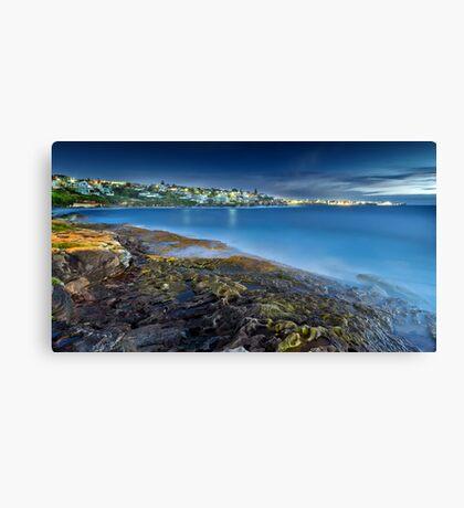 A New Day - Lurline Bay, Sydney Canvas Print