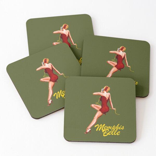Memphis Belle Coasters (Set of 4)