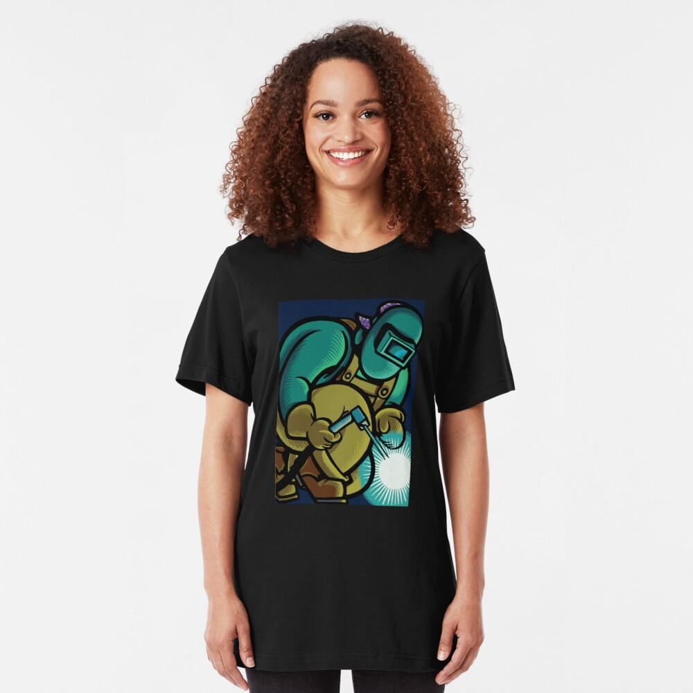 Welder Torch Slim Fit T-Shirt
