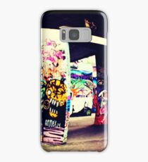South Bank skate park graffiti  Samsung Galaxy Case/Skin