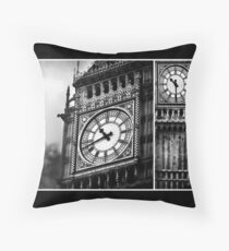 Big Ben | All in a Day's Work Throw Pillow