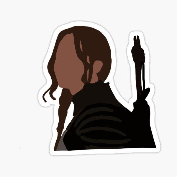 Katniss Everdeen sticker Sticker