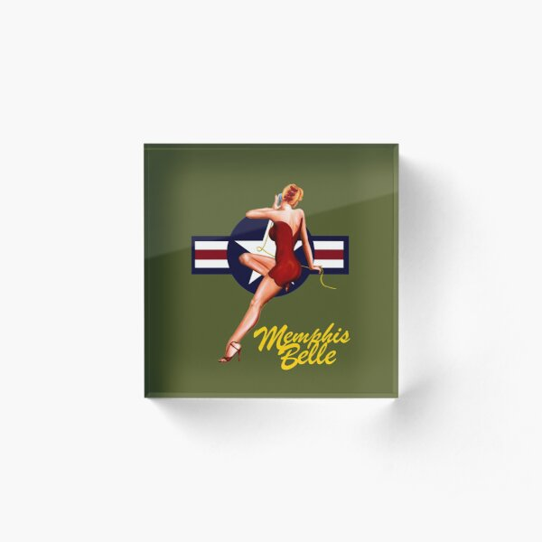 The Memphis Belle Acrylic Block