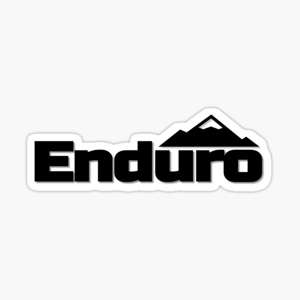 enduro vtt mx Sticker