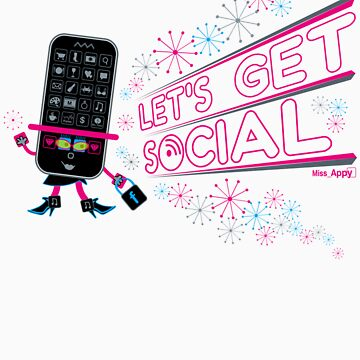 Miss Appy: Let's get social by Mr-Appy