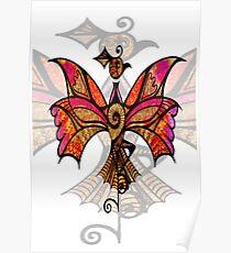 Card - Celtic Bird Poster