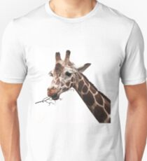hungry giraffe Unisex T-Shirt