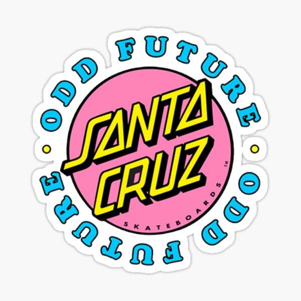 Santa cruz sticker Sticker