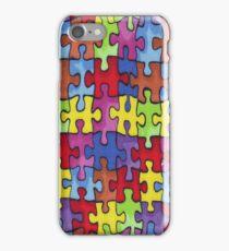 Autism Cure Puzzle iPhone Case/Skin