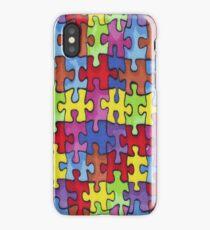 Autism Cure Puzzle iPhone Case