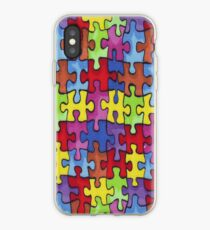 Autism Cure Puzzle iPhone Case