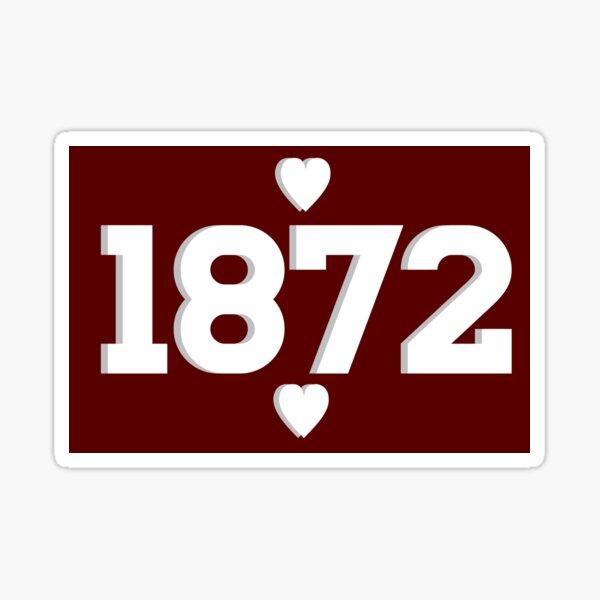 1872 Sticker