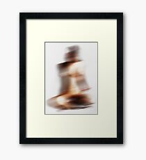 abstract body Framed Print