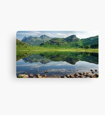 Blea Tarn ..A July Scene.. Canvas Print