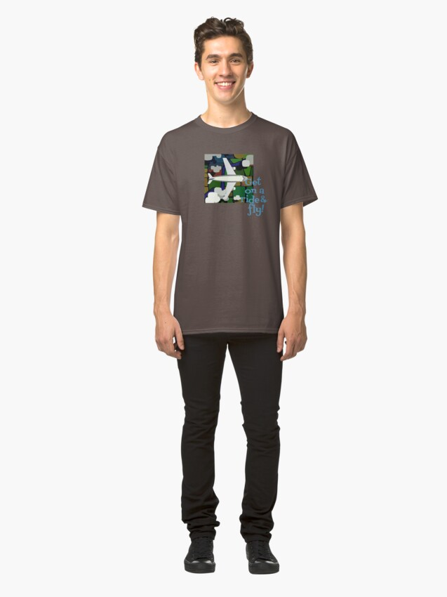 Alternate view of Get & Fly Classic T-Shirt